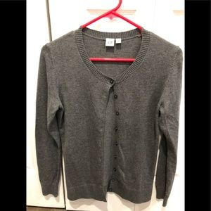 Ladies Gray Cardigan